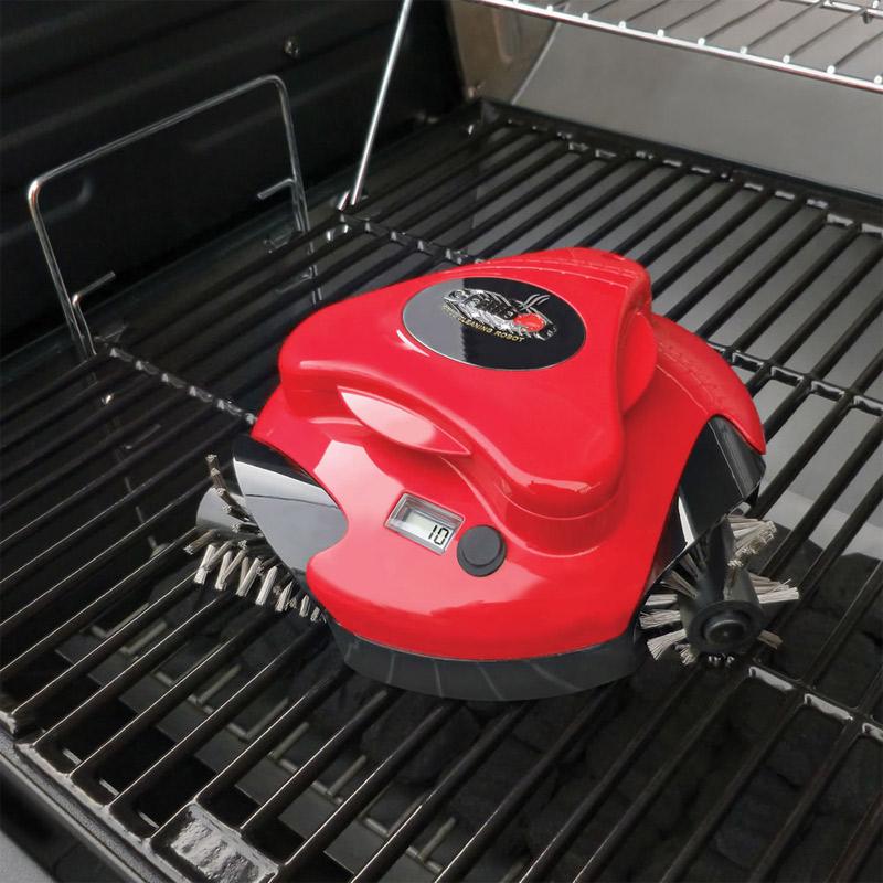 Robot pour nettoyer sa grille de barbecue