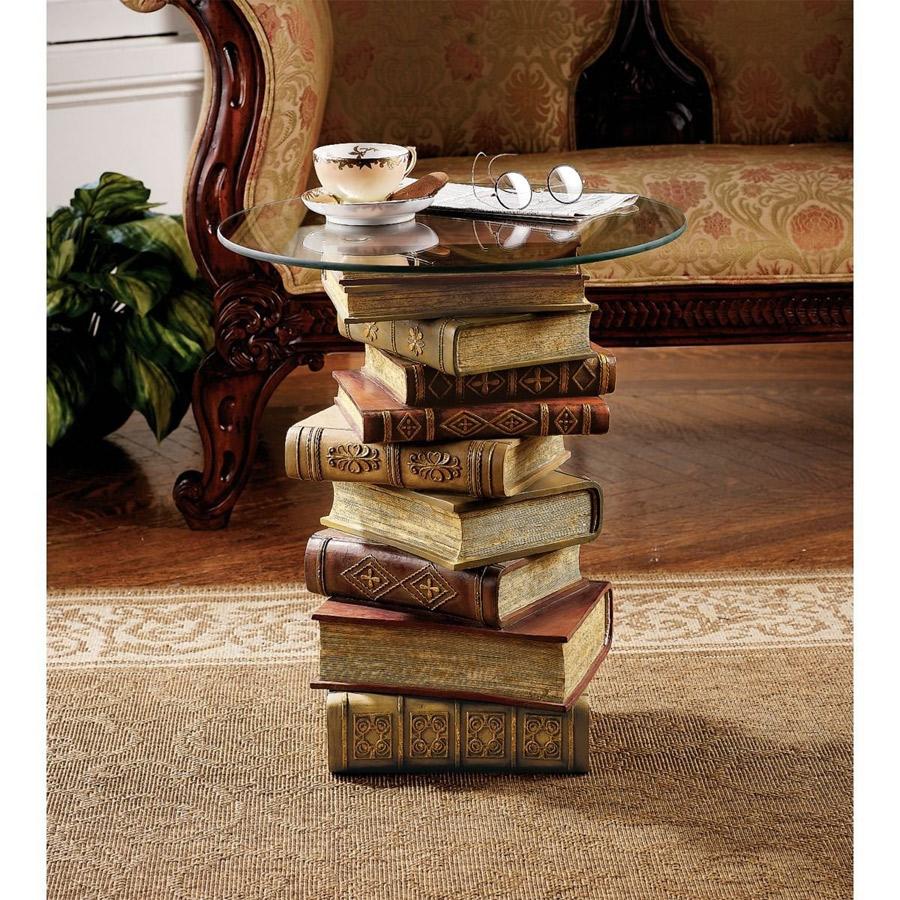 Table basse livres geek - Mesas de libro para salon ...