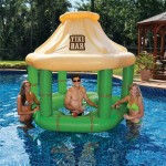 bar gonflable pour piscine
