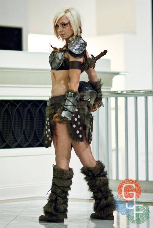 Cosplay Skyrim sexy