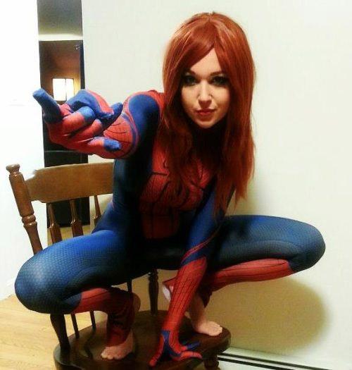 Cosplay sexy de SpiderGirl