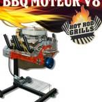 Barbecue Moteur V8