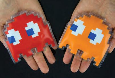 Chaufferettes Pac-Man