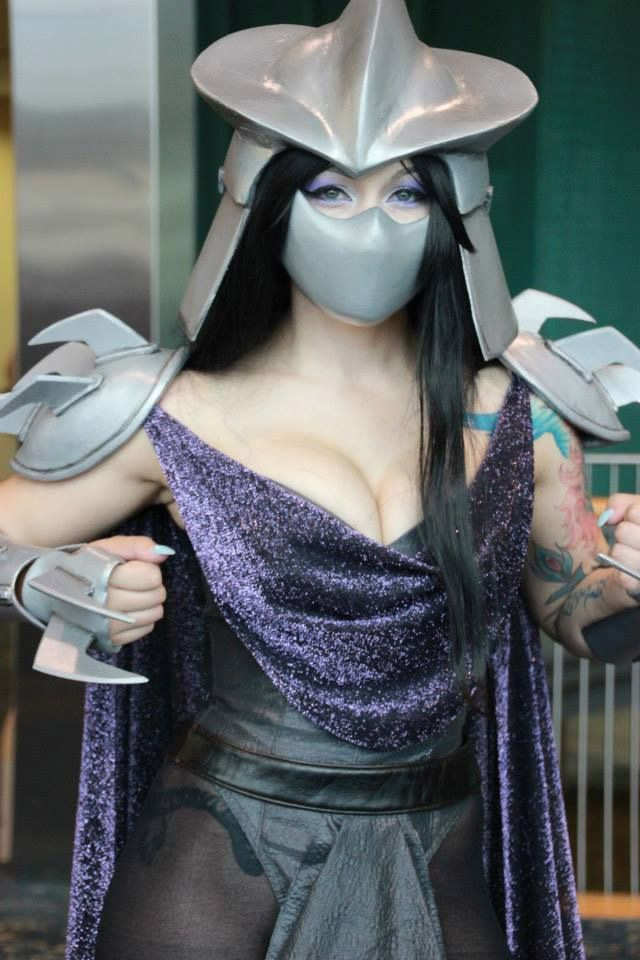 Cosplay sexy Shredder