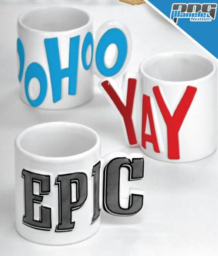 Epic Mug, Yay et Woohoo Mug
