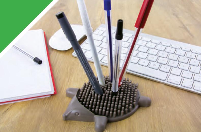 Porte-stylos hérisson