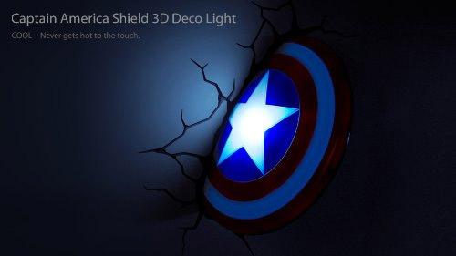 Veilleuse bouclier Captain America