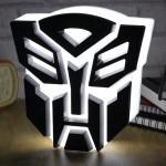 Lampe Transformers Autobot