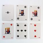 Cartes de Poker Pixel