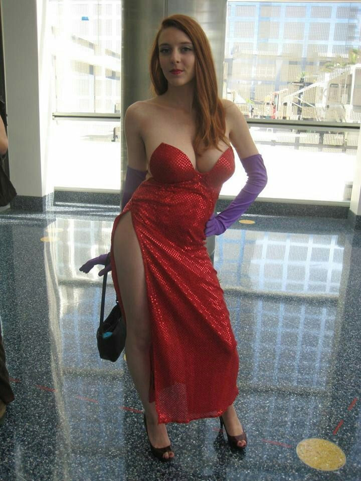 Cosplay sexy de Jessica Rabbit