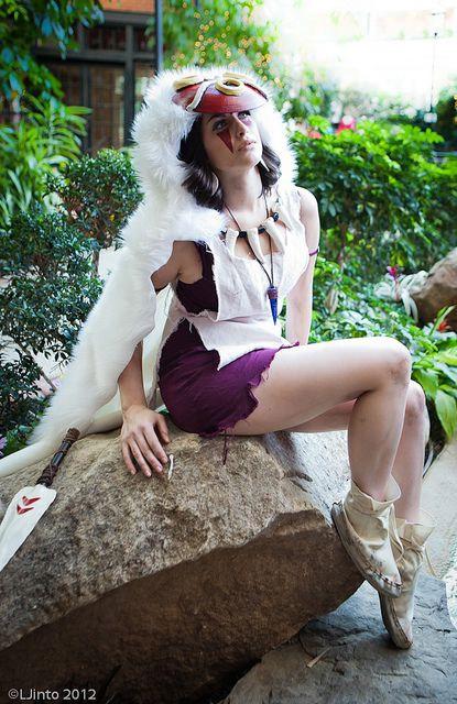 Cosplay sexy de Princesse Mononoke