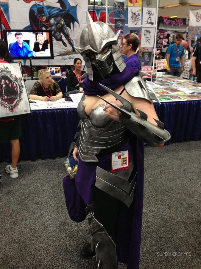 Cosplay sexy de Shredder