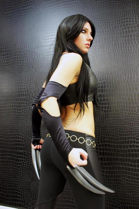 Cosplay sexy X23