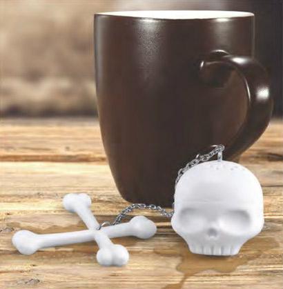 Infuseur à thé tête de mort