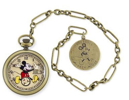 Montre à gousset Mickey Mouse 1933