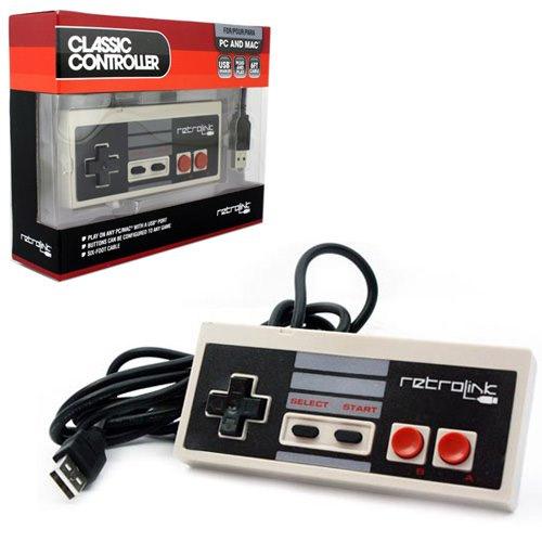Manette Nintendo NES avec branchement USB