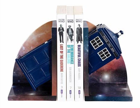 Serre-livres Doctor Who