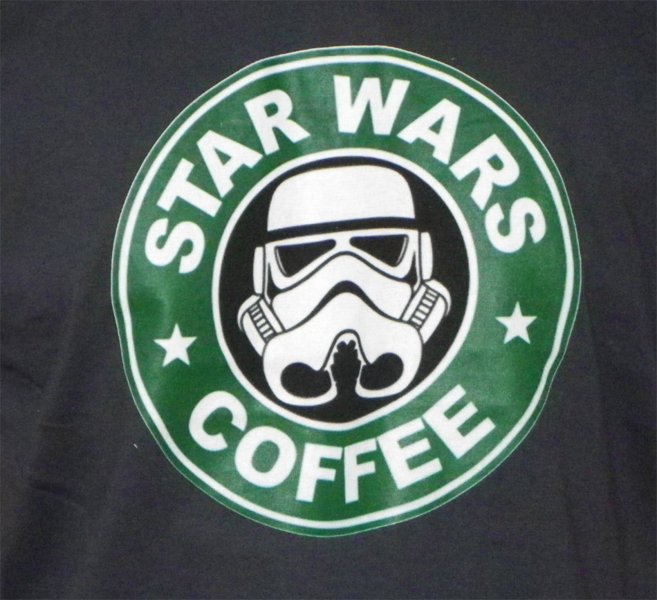 T-Shirt Star Wars Coffee