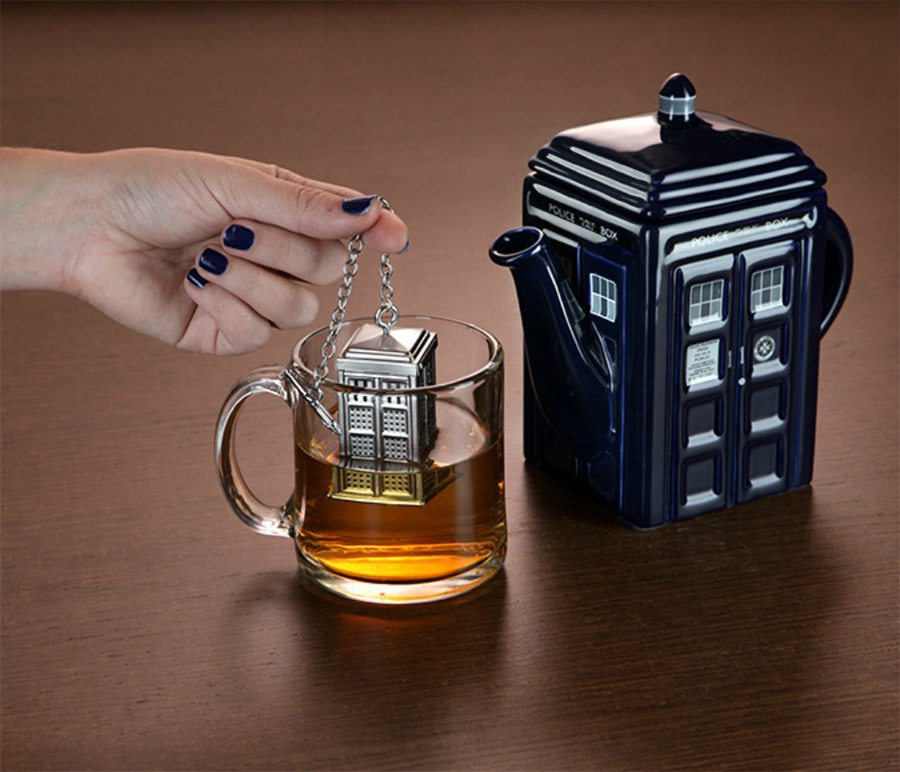 Infuseur à thé Tardis Doctor Who