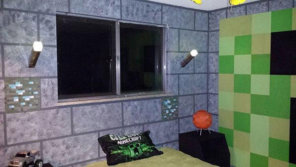 Couleur Peinture Universelle : Chambre Minecraft