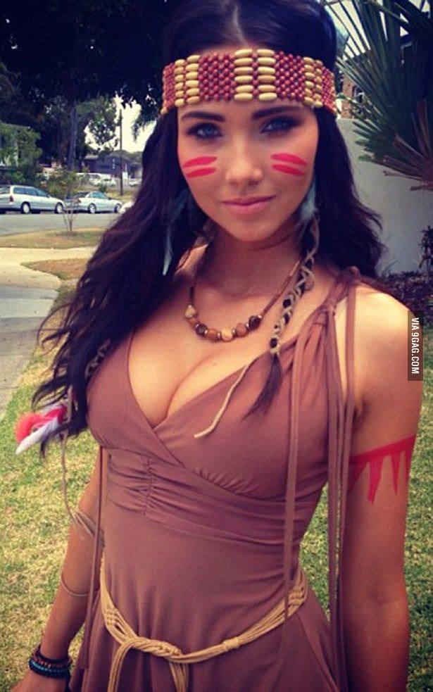 Cosplay de Pocahontas sexy