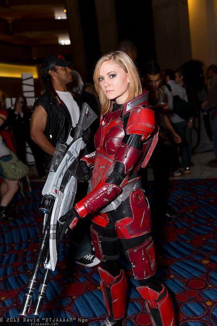 Cosplay du Commandant Shepard