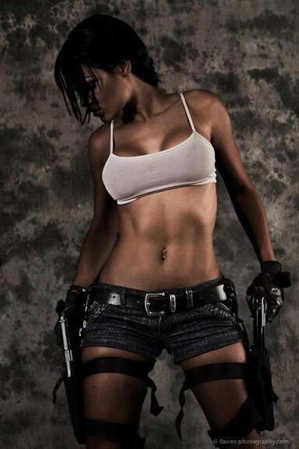 Hot Tomb Raider