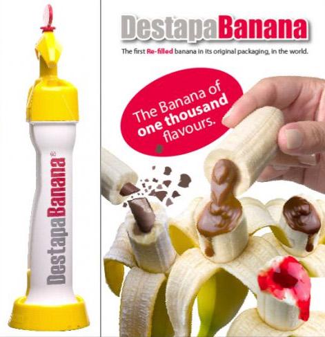 Injecteur de coulis dans une banane