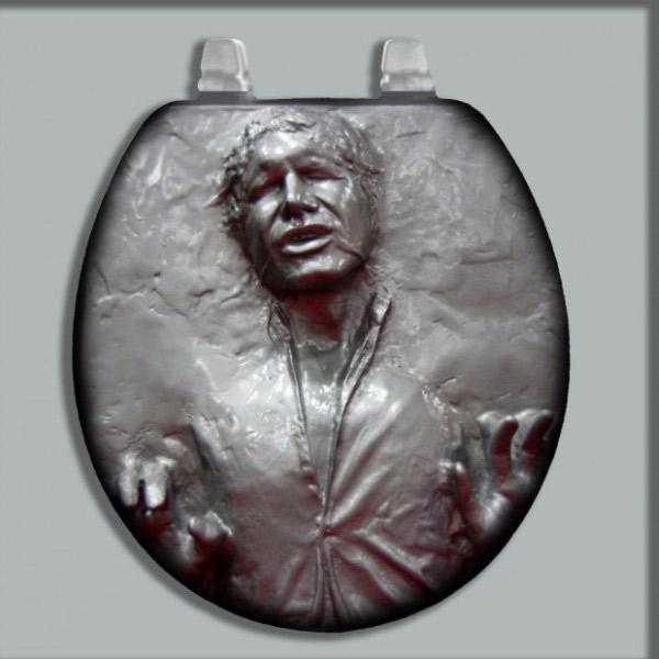 Abattant de WC Han Solo dans la carbonite