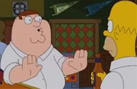 Crossover Simpson/Family Guy