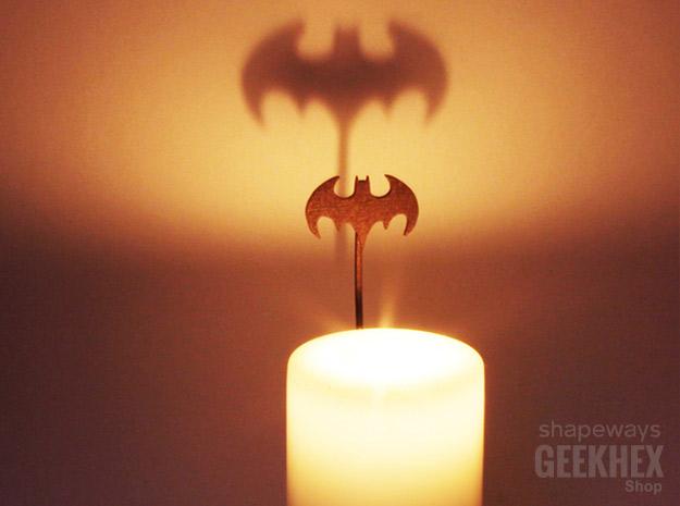 Accessoire pour bougie Bat Signal