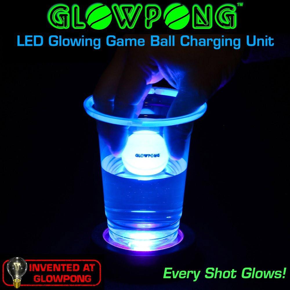 Jeu de beer pong phosphorescent geek - Fabriquer une table de beer pong ...