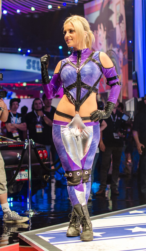 Cosplay de Nina Williams sexy