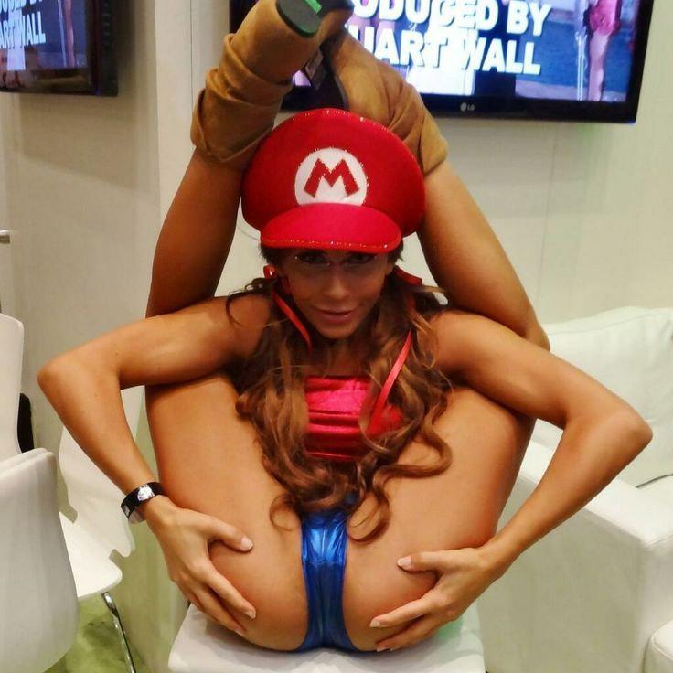 Super Mario Princesse Pche - Jeux sexy Free-Strip-Gamescom