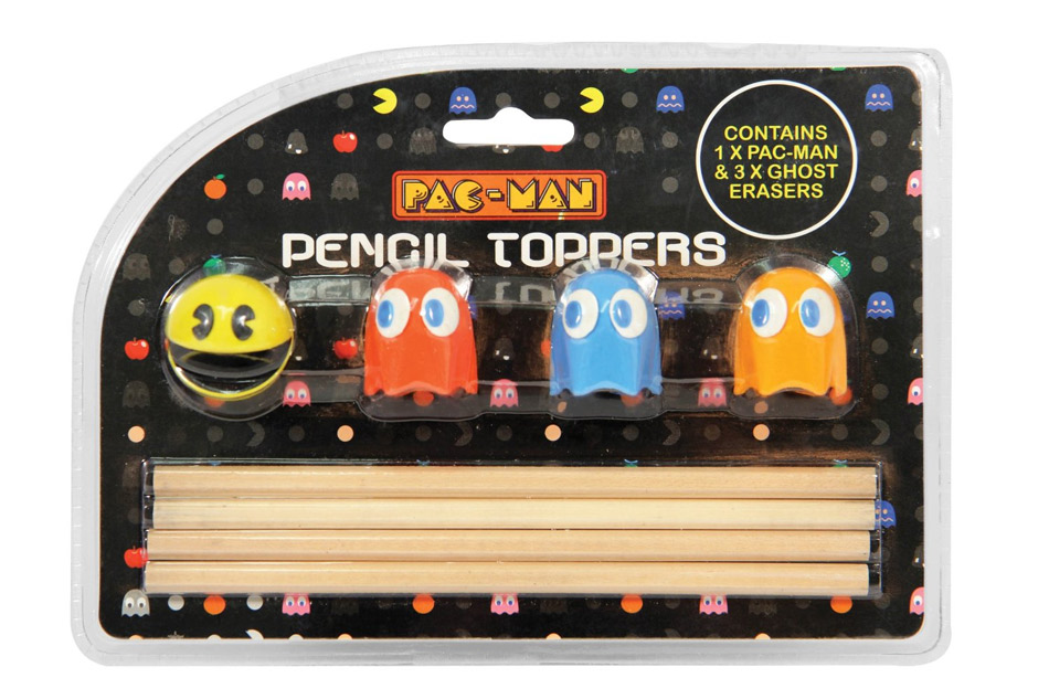 Gomme embout crayon Pac-Man