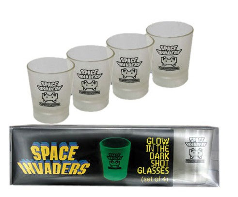 Shooters Space Invaders Phosphorescents