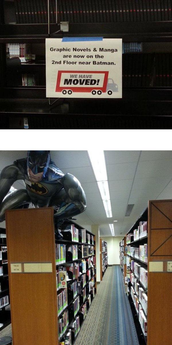 Comment s'y retrouver dans une bibliothèque ?
