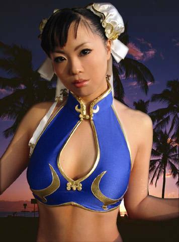 Cosplay de Chun Li sexy