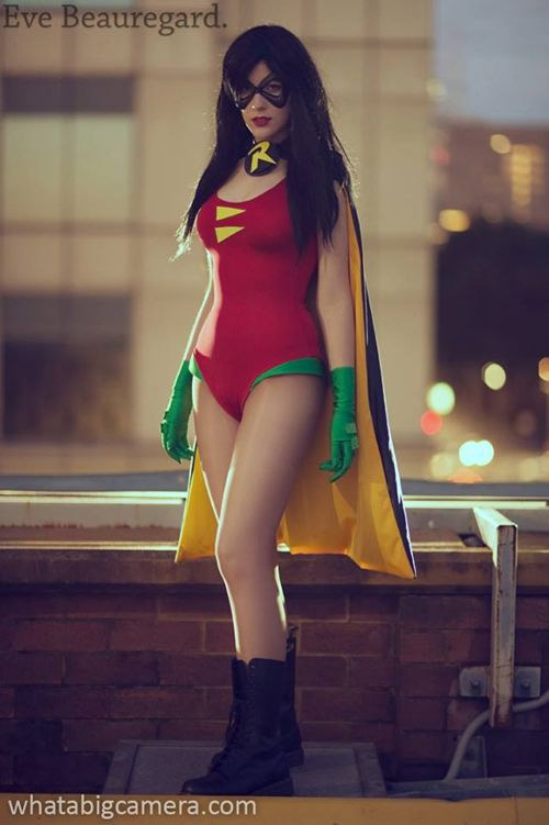 Cosplay sexy de Robin