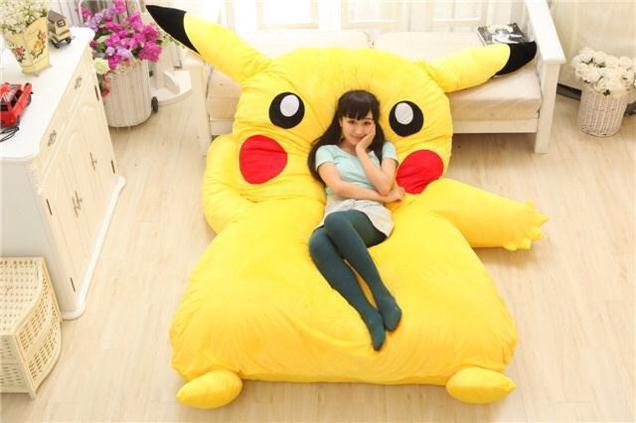 Pouf Pikachu