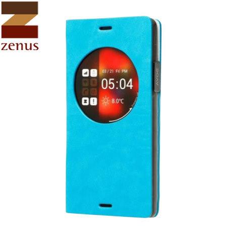 Housse Samsung Galaxy Note 4 Z-View Dolmites – Bleue