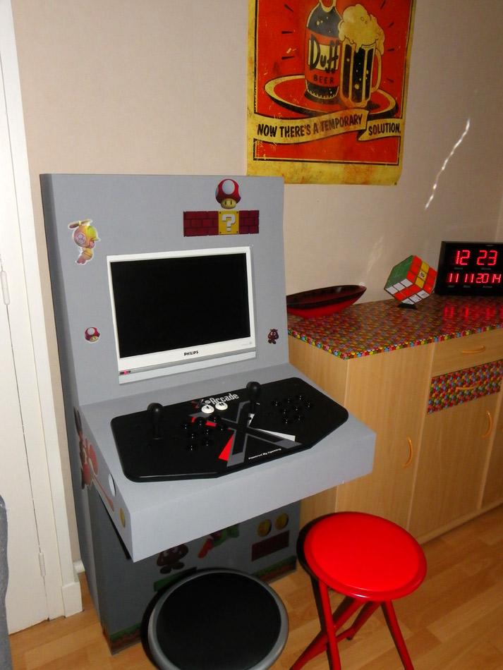 Ma borne d'arcade maison