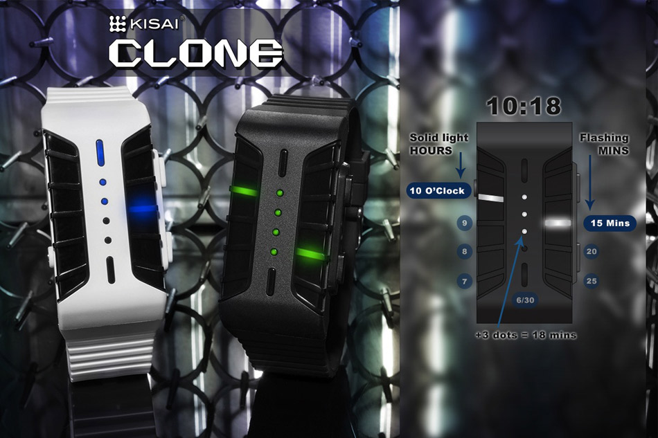 Kisai Clone : Une montre futuriste