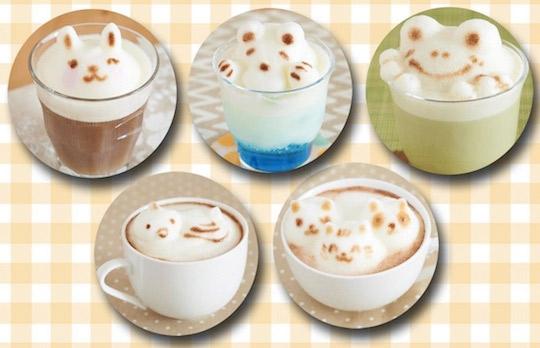 Appareil pour faire des sculptures en latte art