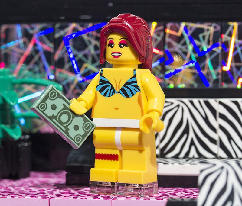 Lego Club de Strip Tease
