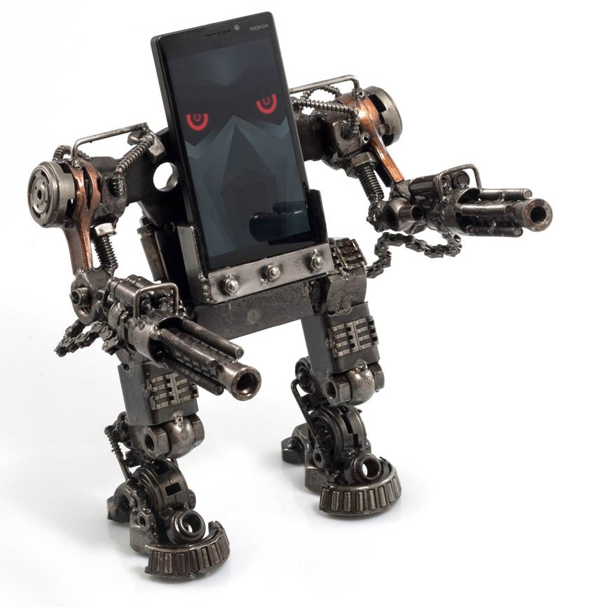 Repose smartphone mecha en metal