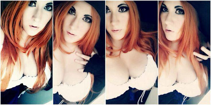 Cosplay sexy de la sorcière de Dragon's Crown