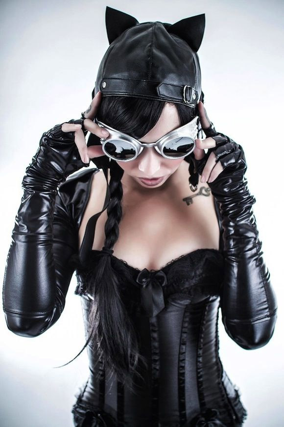 Cosplay de Catwoman sexy