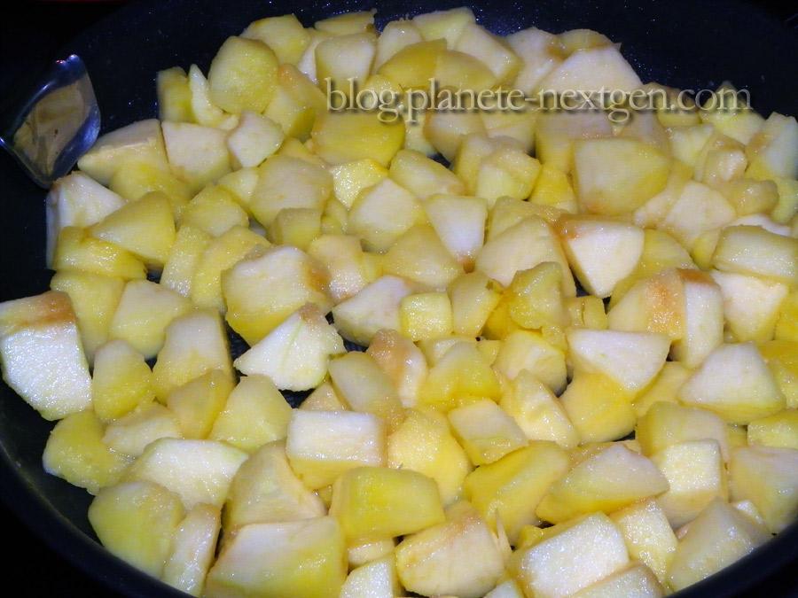 pommes poêlées