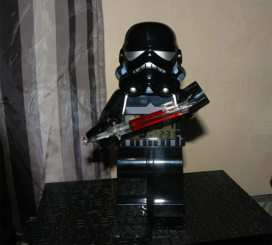 Réveil Lego Shadow Trooper Star Wars